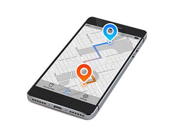 Navigateur GPS pour mobile